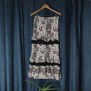 🌻MOVING SALE🌻 Club Monaco Tiered Maxi Skirt